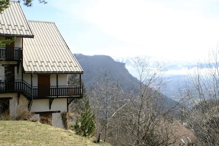 Beautiful Alpine Chalet, best views - Saint-Andéol - 一軒家