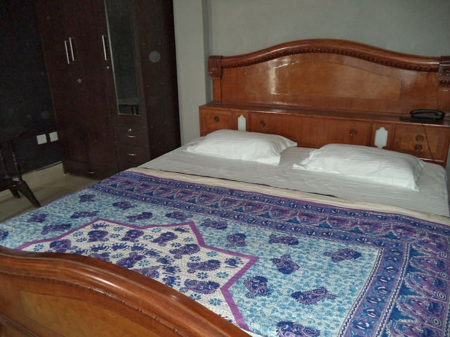 This is a close view of the jaipuri quilt famous for its soft cotton touch and light weight