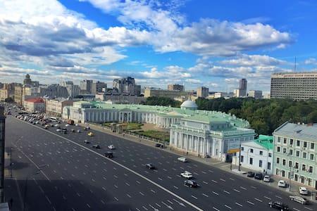 Spacious room,nice view,3 min metro - Moskva