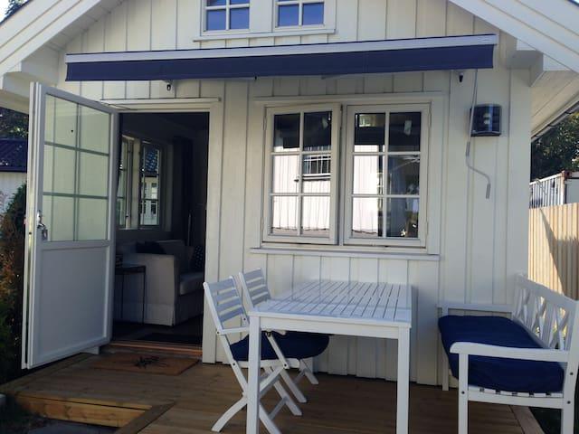 Hvasser - koselig hytte ved sjøen - Tjøme - Srub