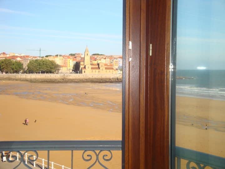 Vivienda en Gijón frente al mar