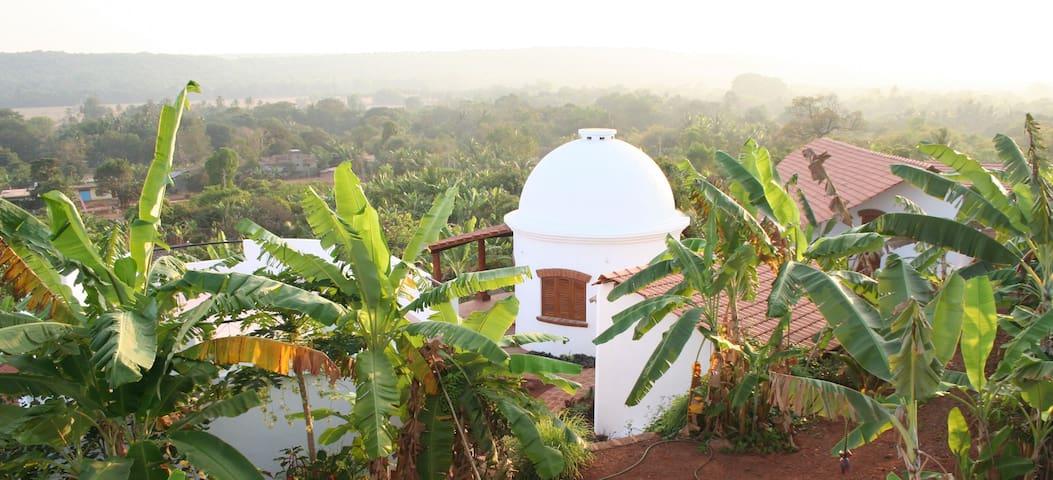 large villa with panoramic view - Mandrem - Villa