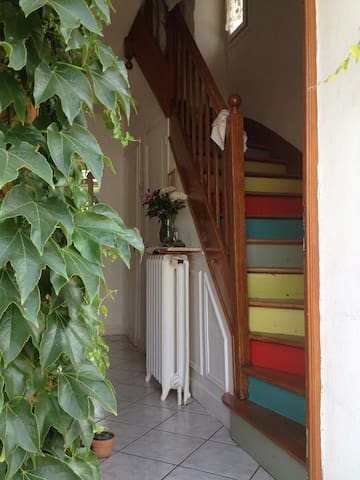 bedroom in my pretty house with garden - Neuilly-Plaisance - Dům