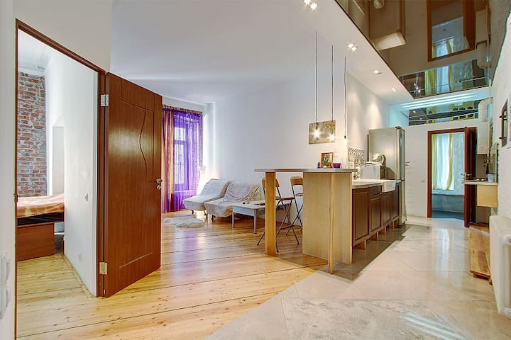 Cozy and modern flat in the very center