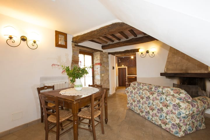 Near Siena, Apartment Leccio,great!