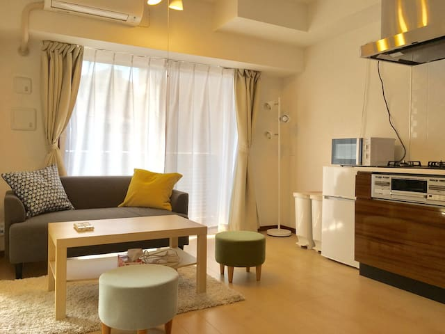 Tokyo 2bdrm apt 701 easy access to the city