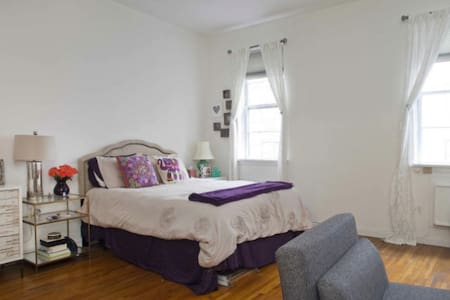 Charming Spacious Studio By Central Park - ニューヨーク