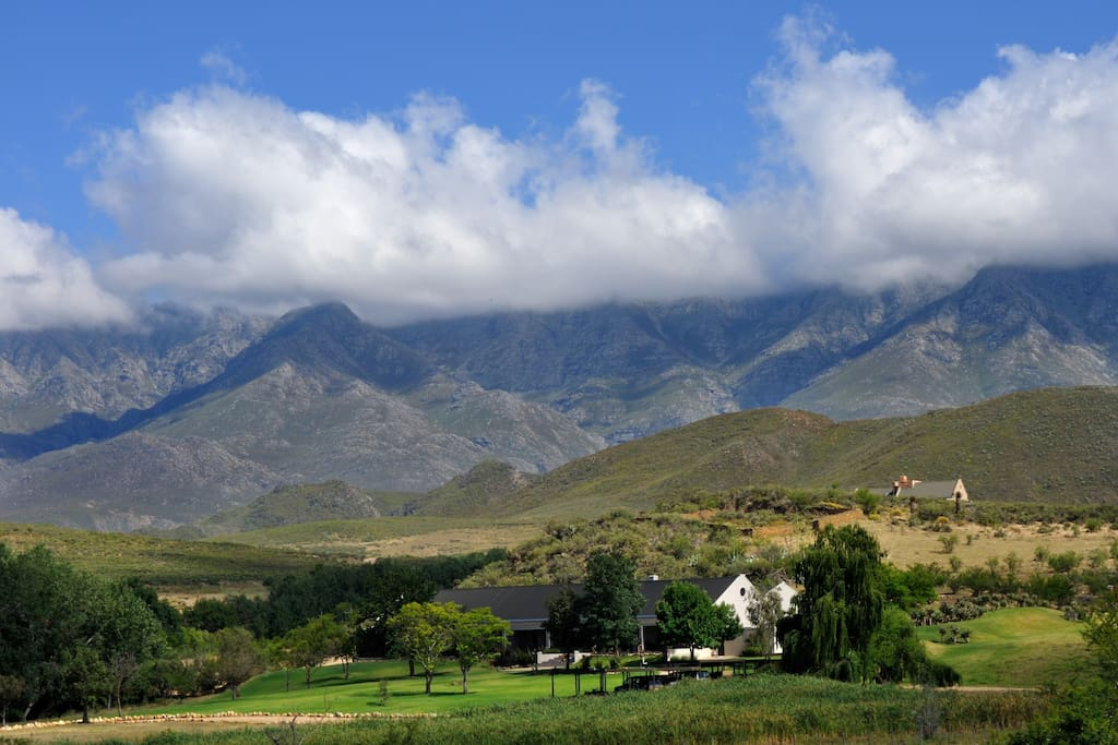 At the foothills of the Swartberg Mountains