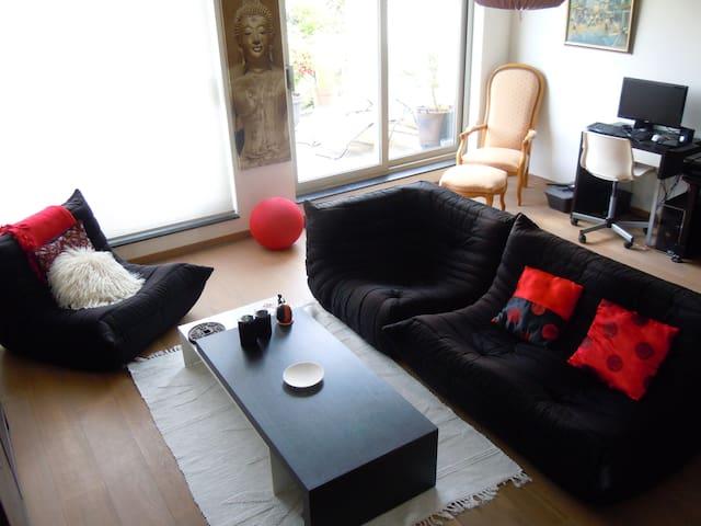 Beautiful duplex with patio - Wezembeek-Oppem - Lakás