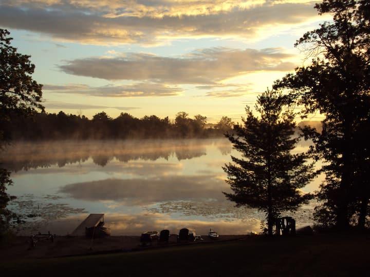 Dayton Lake Cottages in Southwest Michigan