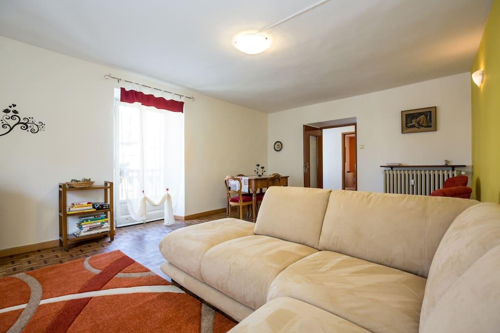 Sala relax il divano