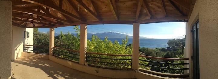 Next to the beach at Skaloma - Nafpaktos
