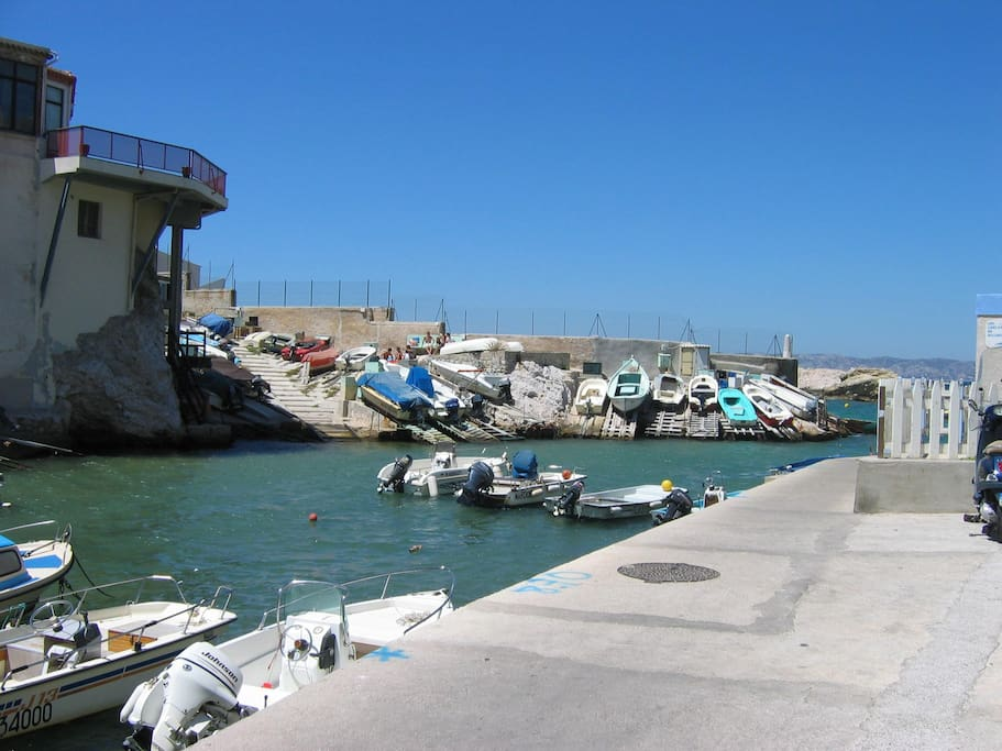 Petit port de Malmousque