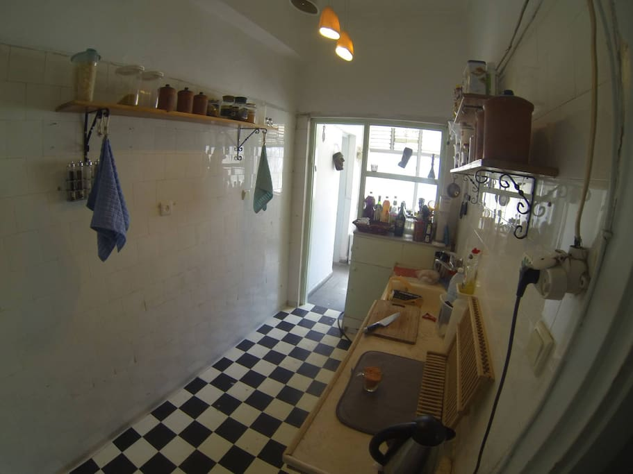 Thats the kitchen