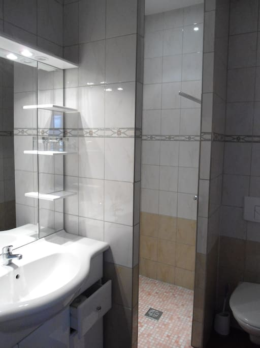 douche italienne, wc