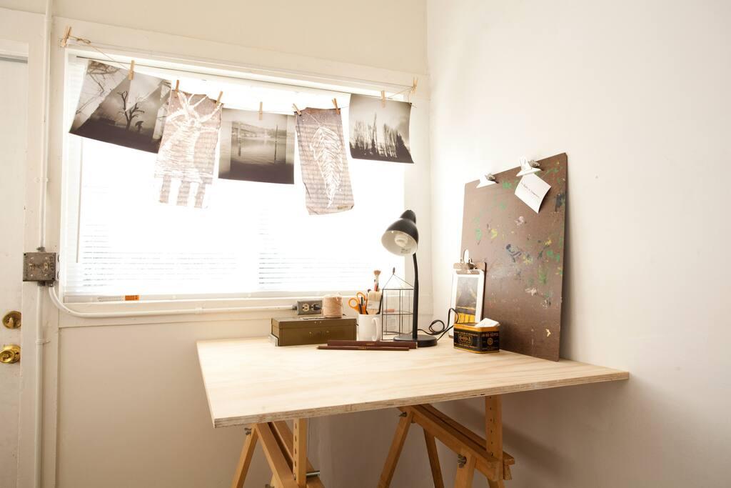 Breakfast Nook / Work Space