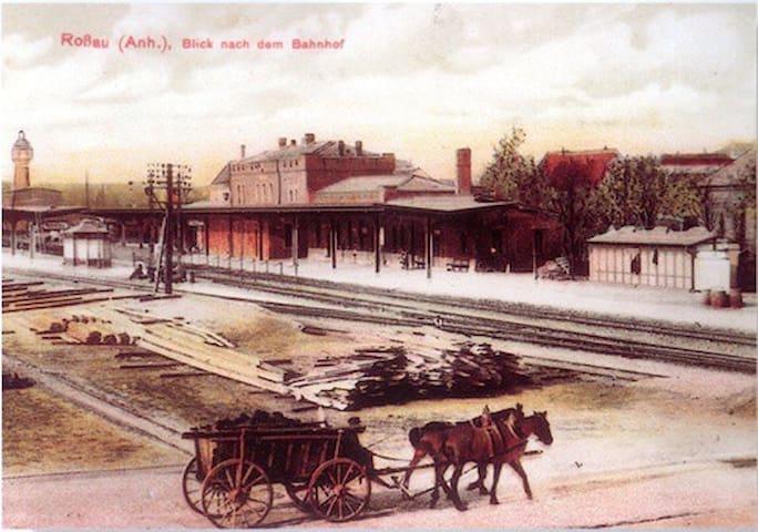 Einzigartig. Bahnhof-1841. Erlebnis. Bauhausnah. - Dessau-Roßlau - その他