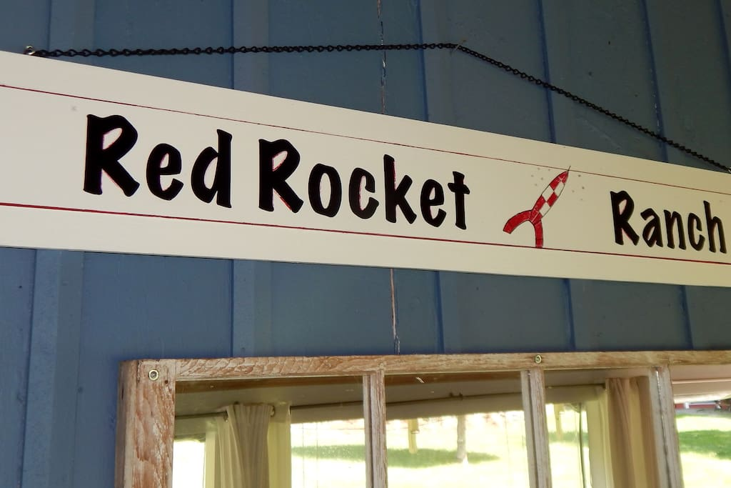 Named for the Red Rocket in the Tin Tin Comics