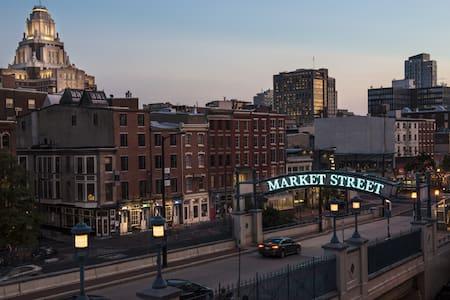 Industrial Chic Loft in Old City - Philadelphie - Loft
