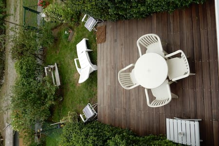 appart. calme, terrasse jardinet - Couzeix