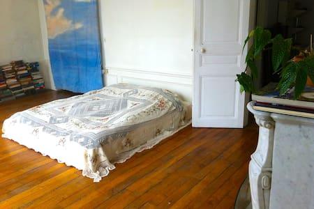 Room in spacious Montmartre flat