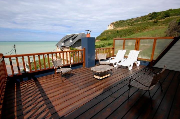Entre ciel & mer aux Grandes Dalles - Sassetot-le-Mauconduit - Wohnung