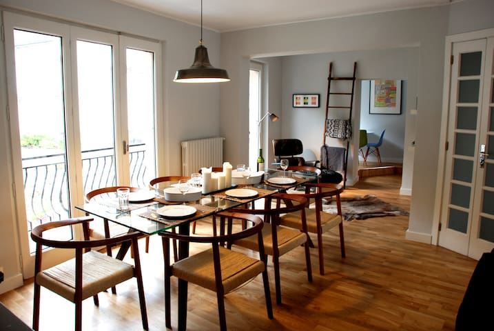 Renovated Modern Spacious Apartment - Saint-Jean-d'Aulps - Apartment
