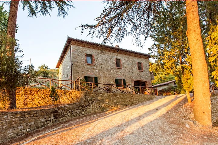 Cortona, country house in Tuscany - Montanare - Hus