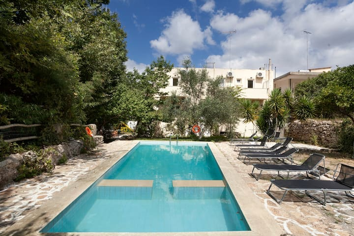 【TOP】Extra big Villa*Pool*WiFi*Parking! - Dafnedes, Rethymno, Crete - วิลล่า
