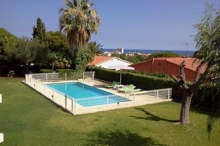 Casa con vistas al mar y jardín - Coma-ruga, El Vendrell - 独立屋