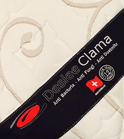 Made In Switzerland : Anti Bacteria • Anti Fungi • Anti Dustmite.