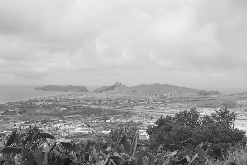 Vista Pico Castelo . Porto Santo
