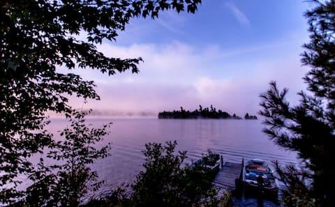 Susie's Island, Adirondack Mtns.