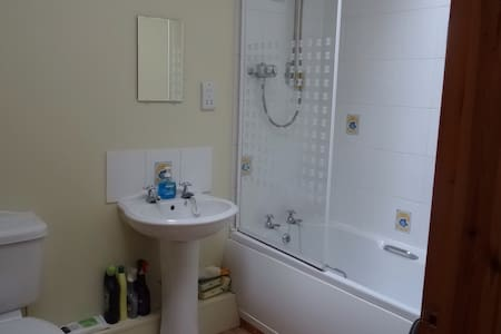 Double room with en suite bathroom - House