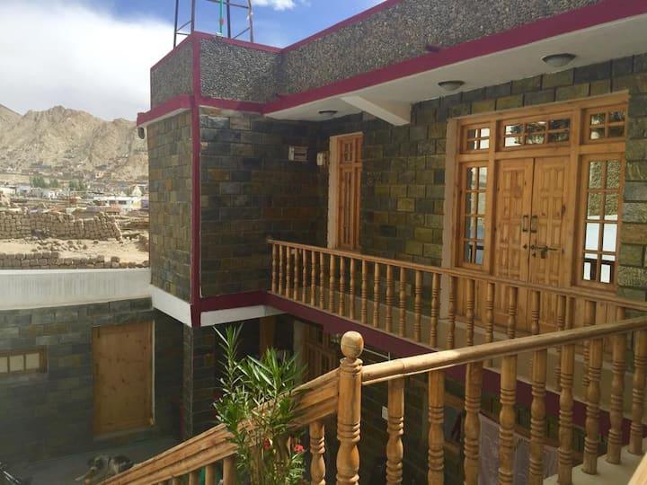 Ladakh view homestay nr Leh palace