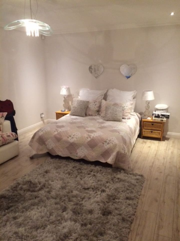 Double Bed plus single bed