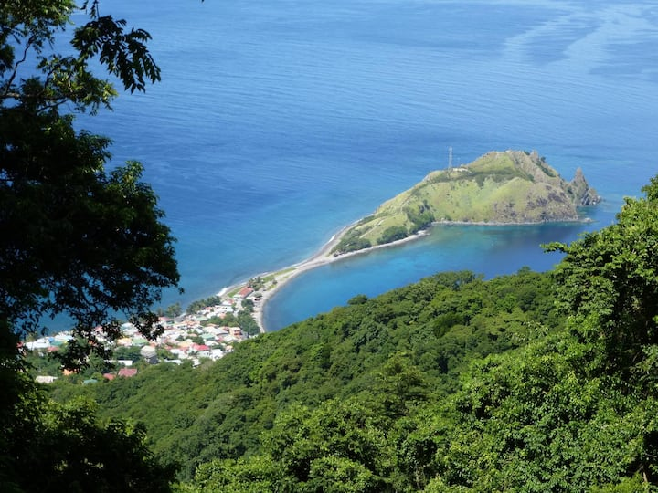 welcome to Dominica Nature Island