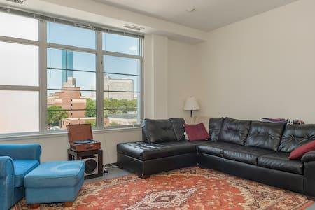 Private room in swank urban loft