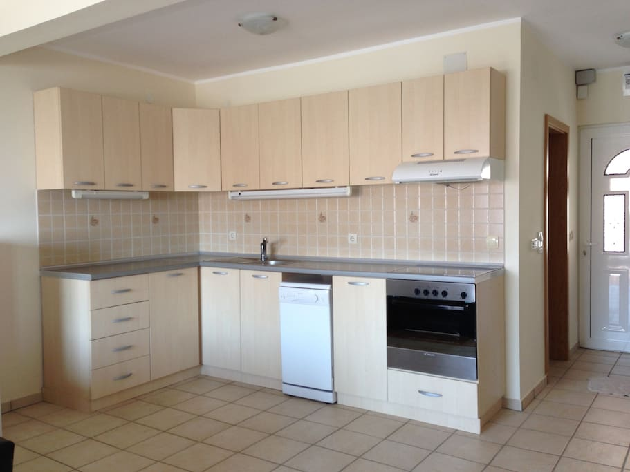 Fully equipped kitchen ready for long stay