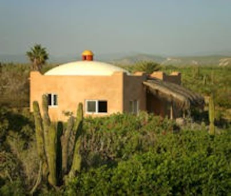 Overview of casita with surronding property