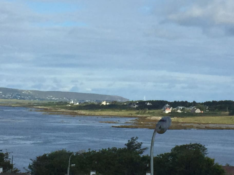 View to Arranmore Island from the house.