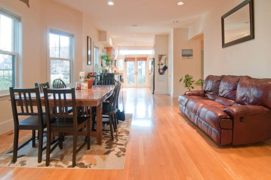 Large Shared Living Space