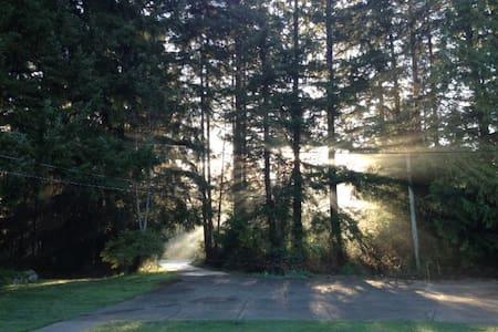 Priv. room & bath, 30 mins to Mt. Washington - Courtenay - Rumah