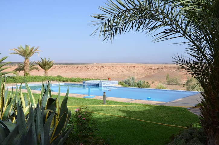 logement indépendant avec piscine - Ouarzazate - Apartemen