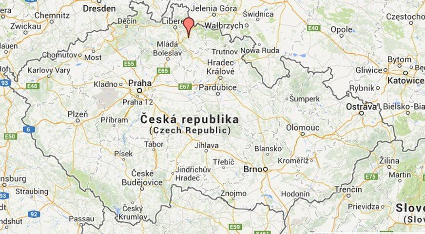 Ons Stekje in ZeleznyBrod - Železný Brod - Dům
