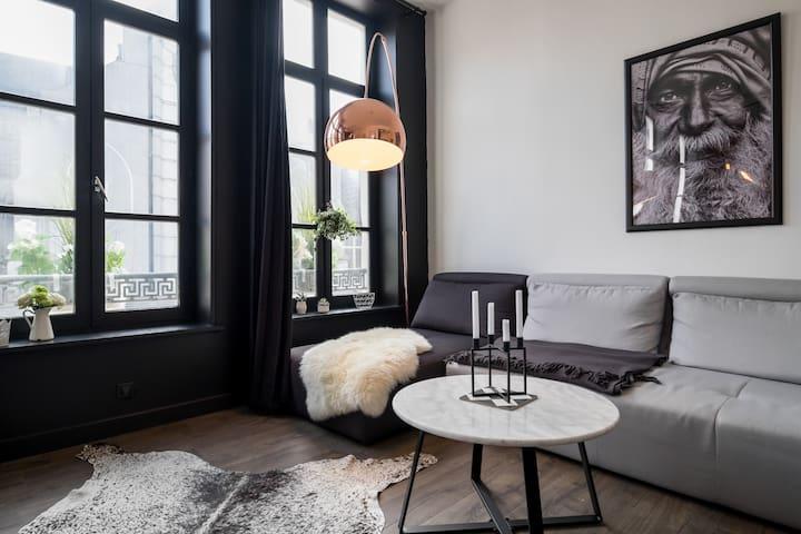 Coeur de Lille en noir et blanc - Lille - Lejlighed