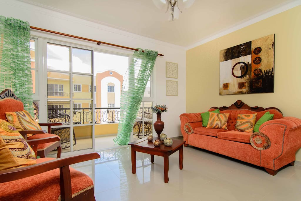 Luxury apartment w mountain view apartments for rent in for Furniture stores in santiago dominican republic