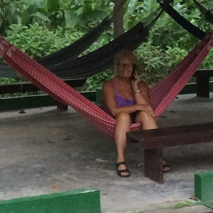 hammocks available for relaxation
