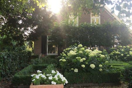 Romantische kamer op boerderij - De Glind