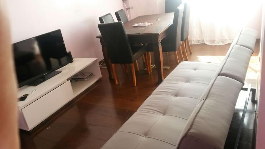 Espaçoso e seguro em ótima localização 2 quartos - São Bernardo do Campo - Lejlighed